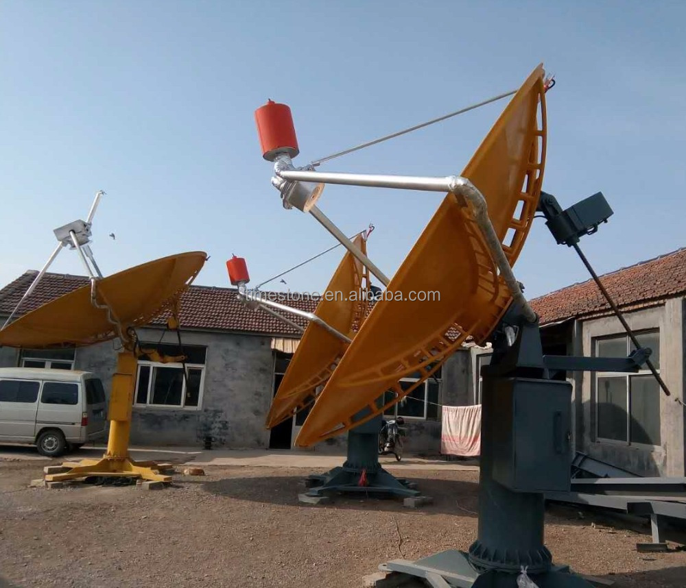 CSP Parabolic Dish Type Solar Thermal Concentrator with GPS Tracking
