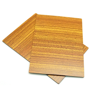Guangdong pe pvdf coating caravan wood grain aluminum composite panel