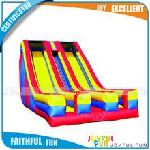 Factory Direct Best Selling Funny Commercial Use Outdoor Large Inflatable Dry Slide for Adult
