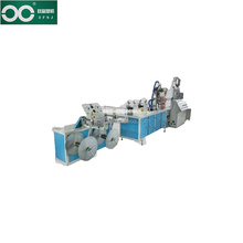 ZFSJ labyrinth garden plastic drip pipe making machine in China