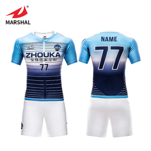 Custom sublimation soccer uniform shirt professional design breathable football shirt soccer kits sports jersey