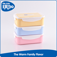 3 Compartment healthy leak proof microwave kid bento lunch box
