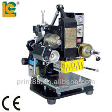 Mini pnumatic brand name hot stamping machinery for leather embossing machine