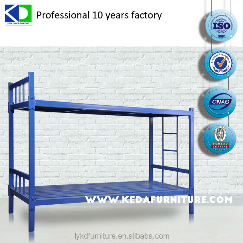 Hot Sale Dormitory Metal Bunk Bed For Army