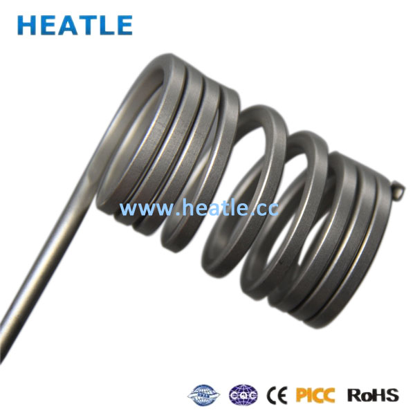 coil heater for mold heating 2.2x4.2 230v 750w / electric heating element / customized heater