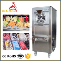 China Factory Manufacturer Cheap Price Commercial Sorbet Italian Ice Cream Making Batch Freezer Hard Ice Cream Gelato Machine