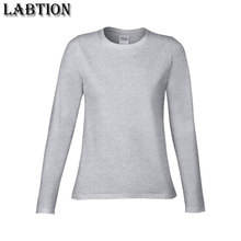 Hot selling high quality custom long sleeve women t shirt