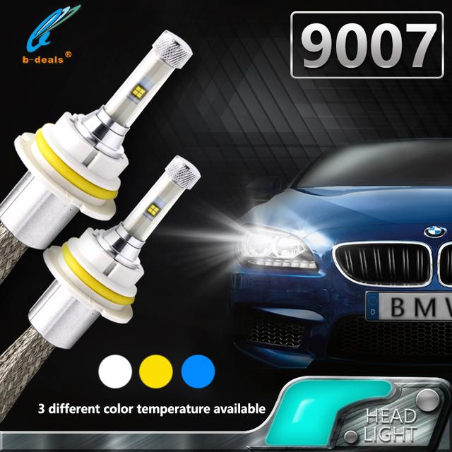 Bi xenon high low beam led head lamp 40W 4800LM 9007 led headlight 9004 9005 9006