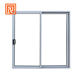 New design fire rated double glazed aluminum sliding window