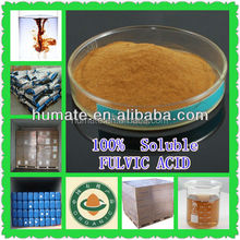 HOT SALE 80% Purity Organic Fertilizer Fulvic Acid