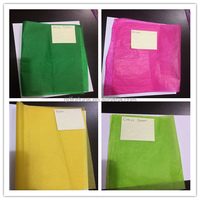 Packing Flower Color Waxed Tissue Paper