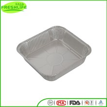 Best price aluminum foil container large size food foil aluminum tray