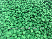 heat resistant plastic food grade pp resin green masterbatch for polietilene bag