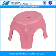 small child outdoor plastic step stool chair price plastic foot stool for sale China factory