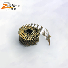 Top selling products cheap q195 galvanized big head shingl domed gun roofing coil nail