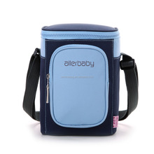 Fashion Triangle Insulated Lunch Bag Promotional Thermal 600D Polyester Cooler Bag