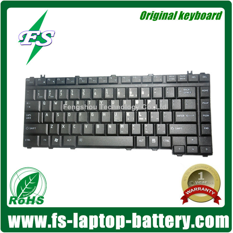 Genuine Original Laptop Computer Keyboard for Toshiba Satellite A10 A15 A20 A25 A30 A40 A100 A105 1400 2400 M30 M50 P20 P30
