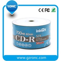 High solution 700MB 80min 52X Wholesale Blank CD for Video