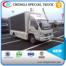 FOTON Forland 4*2 P6 Liftable Led Truck Led Mobile Stage Truck