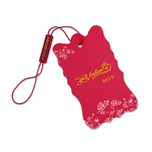 Eco-Friendly price Art Printing Paper Plastic Clothing Hang Tag With Eyelet