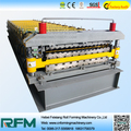 hot selling automatic control cutting Double Layer Corrugated steel roofing sheet Roll forming machine