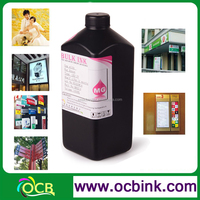 Ocbestjet UV offset printing ink and invisible uv ink For Flatbed Ceramic Printing with White Ink