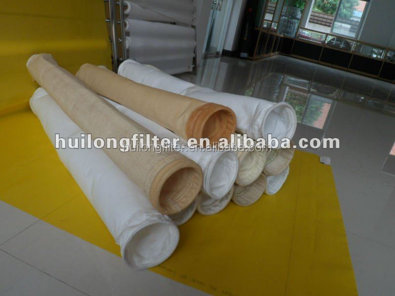 Acid resistance High temperature resistant filter, Polyimide Dust Filter Bag