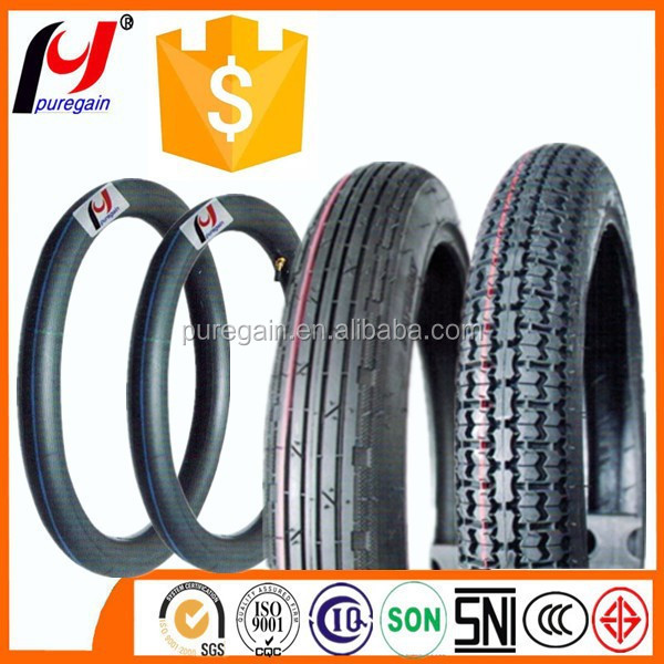 motorcycle tyre 2.75-16 china motorcycle tyre tube /motorcycle tire 300-17
