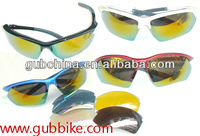 GUB 6604 Outdoor Glasses with Interchangeable Lenses supplier in China Protective Riding Glasses For mountain road bike used
