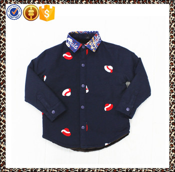 Hot sale flannel shirt, kid shirt