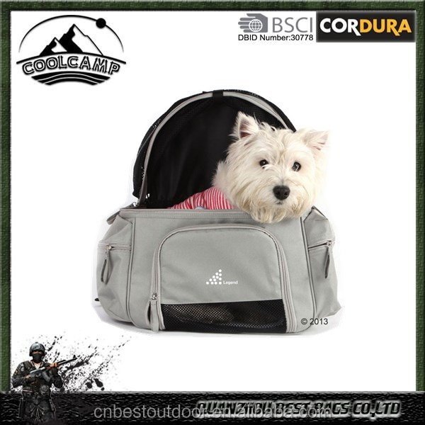 2016 factory wholesale gray expandable carrying Soft dog pet cage/pet carrier dog bag/ cute Dog Carrier Pet Travel Bag