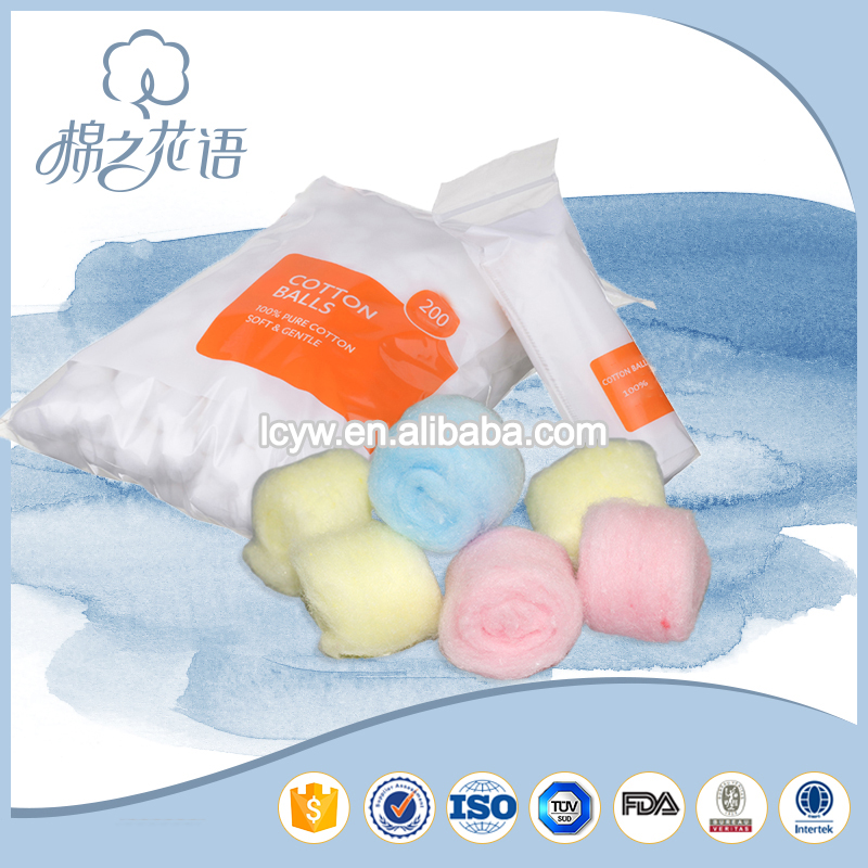 medical alcohol disinfection absorbent cotton ball manufacturer