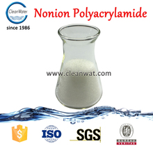 nonionic pam waste water coagulation