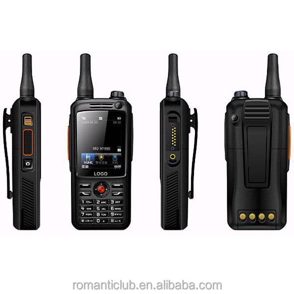 WCDMA GSM walkie talkie with SIM Card Two Way Radio