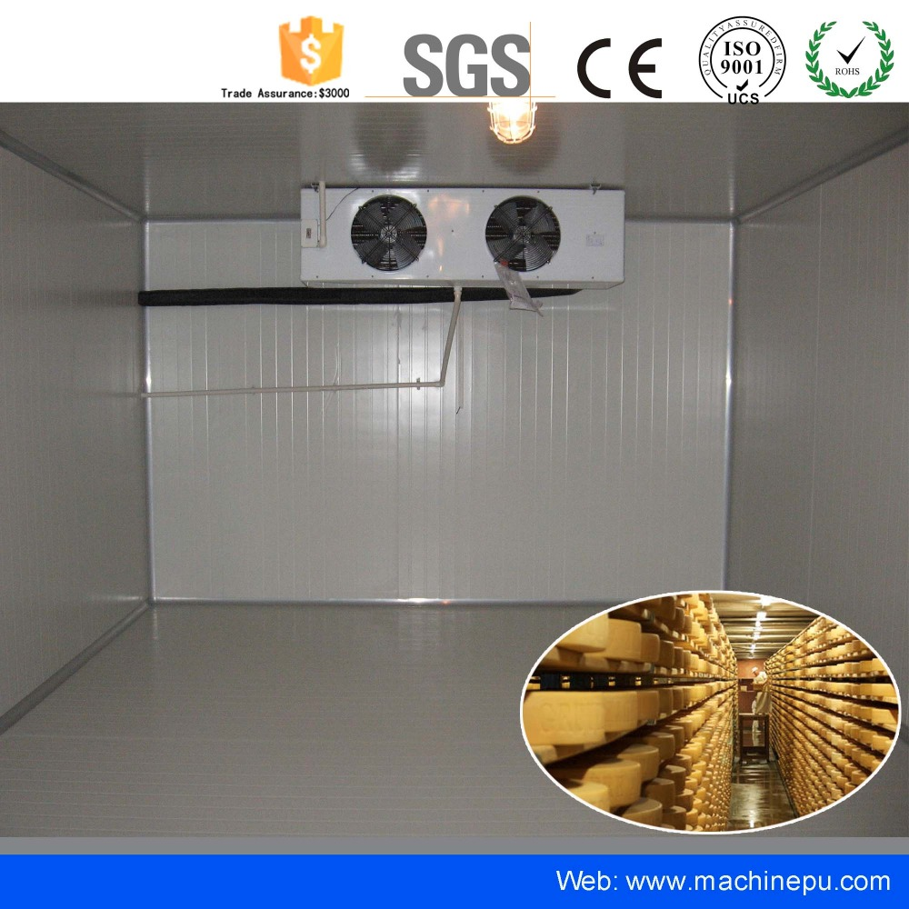 Jiangsu polyurethane mobile home fridge freezer used cold room panel