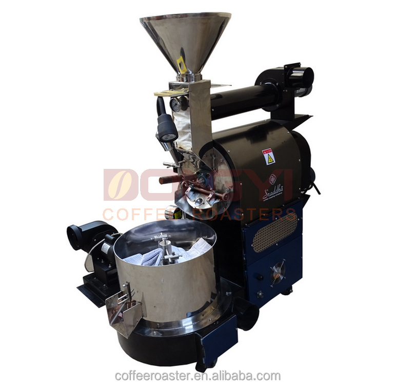 Best seller electric or gas 3kg drum coffee roaster for sale coffee roasting machine alibaba