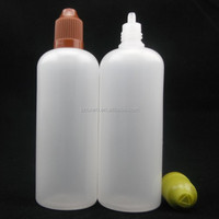 Wholesale Plastic Needle Bottle for Eye Water 100ml 120ml E-vapor Oil Bottles Clear PE Plastic Oil Bottle