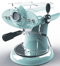 Italian design professional espresso coffee machine with Italy Ulka Pump elegant blue