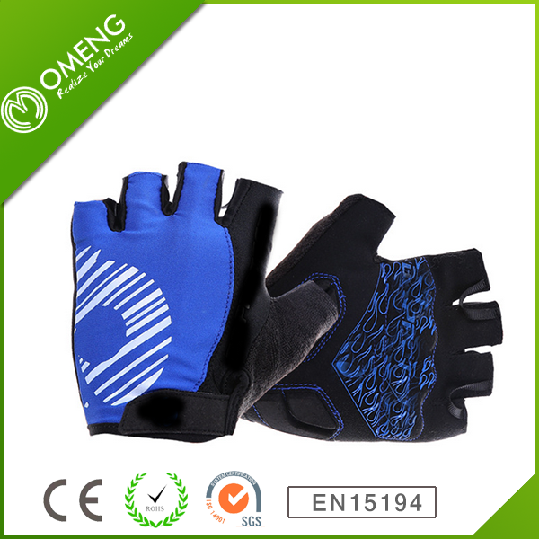 Gel Bike Half Finger Cycling Gloves Short Bicycle Biking Riding Gloves