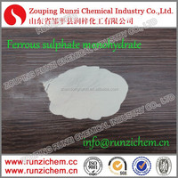 Compound Chemical Fe 30% Feed Additive Grey White Powder Ferrous Sulphate Monohydrate