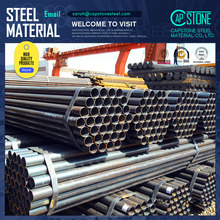 ERW construction material carbon/welded/black steel pipe used for oil and gas transportation