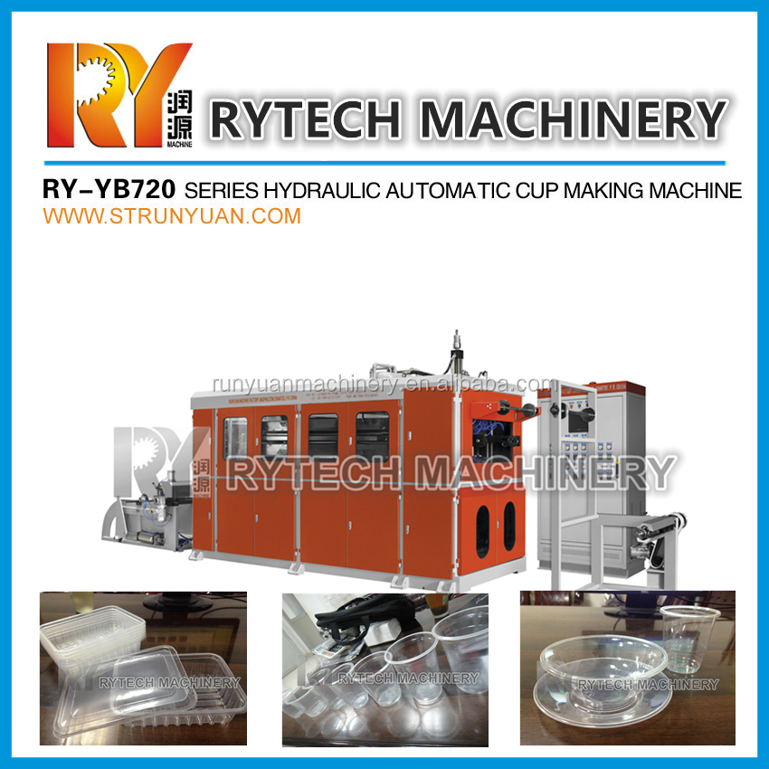 Plastic Disposable Cup and Plate Making Machine