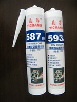 RTV silicone flange sealant 593 with excellent chemical and weather resistance