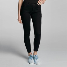 Latest design jeans pants low price black sexy skinny jeans for women