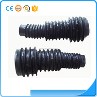 custom flexible silicone rubber bellow for cylinder