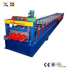 Roofing Sheet Cold Galvanizing Corrugating Iron Sheet Making roll forming Machine