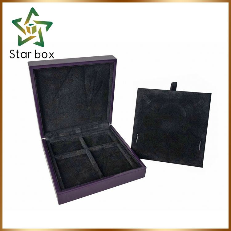 High glossy jewelry box with foam insert, purple big lots jewelry box