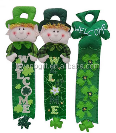 Ireland St Patricks Day Party Green Clover Decoration