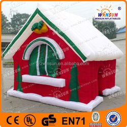 Popular exciting christmas inflatable house