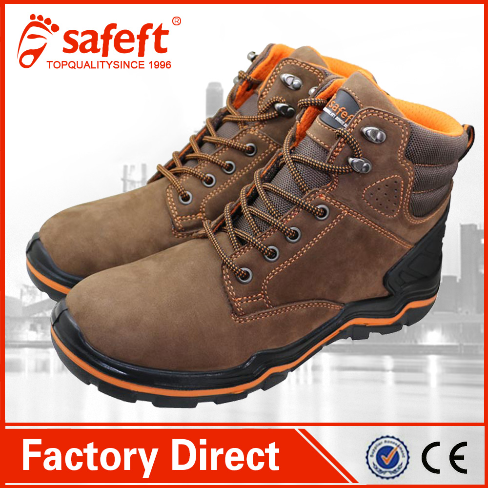 woodland safety shoes Kevlar sole Rubber safety shoes work boots